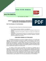 Boletin Digital de la Federación de Enseñanza de CC.OO Andalucía
