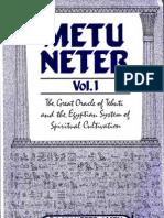 Metu Neter Volume 1