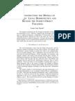Deconstructing the Models of Judges