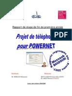 projet de téléphonie pour POWERNET