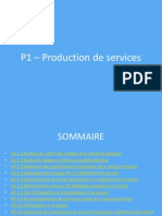 p1  production de services