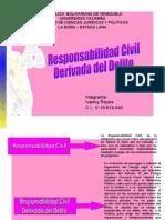 Responsabilidad Civil Derivada Del Delito. Ivanny Reyes