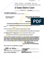 "Federal search warrant for ""Denver Players"" set 1 or 2"