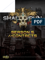Shadowrun 5th Edition Contacts