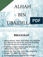 Tholhah Ubaidillah