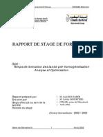 Rapport De Stage à Ciments du Maroc