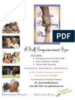 Positive Parenting Plus Promotional Flyer