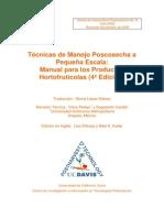 Técnicas de Manejo Poscosecha a Pequeña Escala-Manual para los Productos Hortofrutícolas