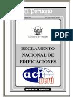 Reglamento Nacional Edificaciones