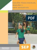 EDUCACIÓN FÍSICA- RECREACIÓN Y DEPORTE EDUCATIVO