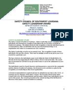Safety Leadership Award