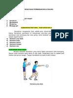 Kemahiran Asas Permainan Bola Baling