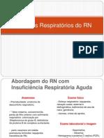 Distúrbios Respiratórios do RN (1)