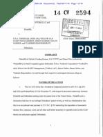 In Vehicle Vending System v. U.S.A. Vendicab et. al.