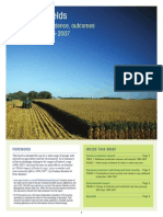 Focus on Yield Effects 2009
