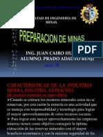 Preparacion de Minas