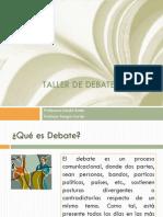 Taller de Debate - N° 1