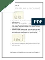 Langkah2 Ujian Konservasi Kuantiti Air