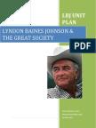 lbj unit plan