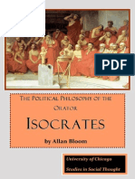 Bloom - Political Philosophy of Isocrates 237 p