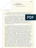 Lou Gehrig Letter to Mayo Clinic Doctor 1939