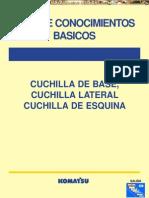 Manual Cuchilla Base Lateral Esquina Komatsu