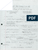 Chapter 17 and 18 Formula