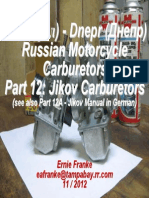 Part 12-Jikov Carburetor