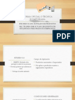 Norma Oficial o Tecnica Ecuatoriana