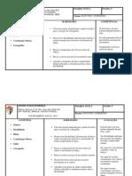 Treinamento Danca Planejamento Anual 2014