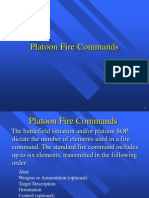 Platoon Fire Commands