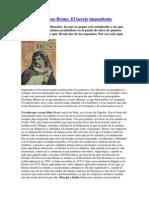 Giordano Bruno Das