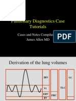 Pulmonary Diagnostics PFT and CXR Small Group Cases 2014