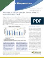 GRADE Analisis y Propuestas Impacto de Juntos en Nutricion Temprana Boletin21 Enero 2013 - 21.pdf