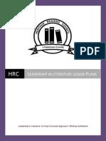 hrc leadership lesson plans