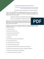 Reglamento Interior de La SEP