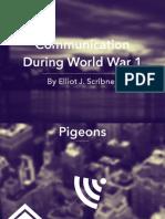 WWI Communication