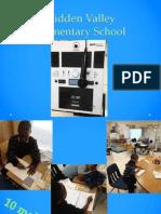 Hidden Valley Elementary School Clinical Experience