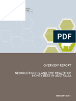 Neonicotinoids Overview Report February 2014