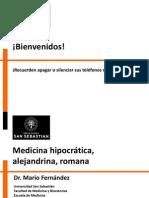 (2) Medicina Hipocratica, Alejandrina, Romana - (Blanco)