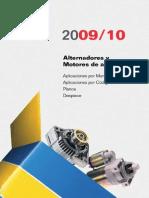 Alternadores y Motores de Arranque 2010-AR