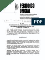 Reglamento de Apf en Diario Ofic de Tabasco