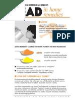 Lead Home Remedies