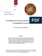 Un Calendario en El Speculum Humanae Salvationis Corregido Gorka Lc3b3pez de Munain