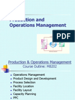 12384865 Production and Operations Management