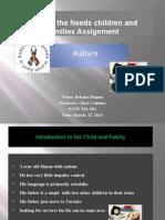 Meeting the needs of Children & Families