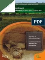 Formas cerámicas en contextos regionales del neotrópico ecuatoriano Amelia Sanchez y Yolanda Merino 2013