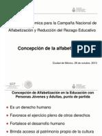 6 Concepto de Alfabetizacion