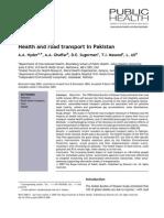 Health in Pakistan