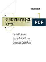 8 Plc Omron Advance Instructions